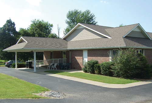 senior living home exterior at 60 Nichols Ave Marion, KY